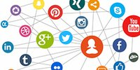 Networking social media and search engines