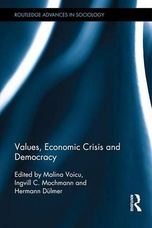 "Cover: 2013: ""Values, Crisis, and Democracy"" 