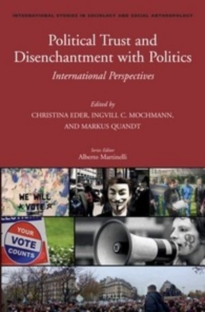 "Cover: 2012: ""Political trust and disenchantment with politics"" 